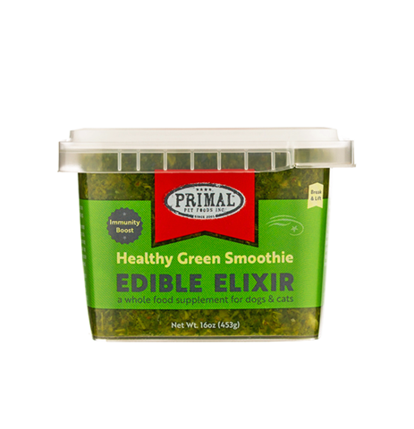 Primal Edible Elixirs Healthy Green Smoothie 16oz