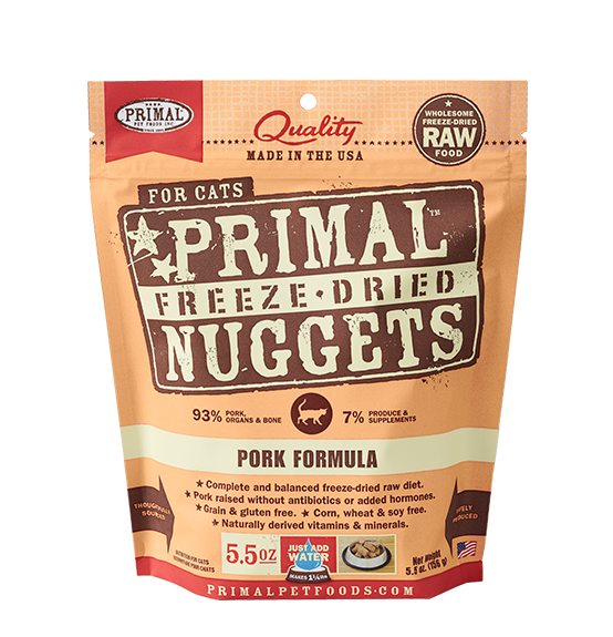 Primal Freeze-Dried Pork Formula 5.50z