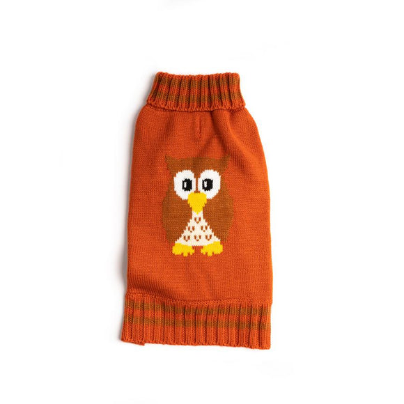 Fabdog Owl Sweater