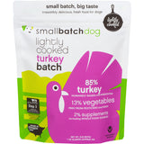 SmallBatch Dog Lightly Cooked Turkey Batch Formula
