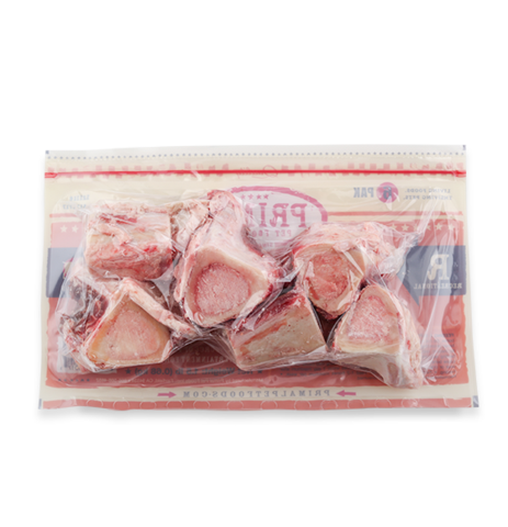 PRIMAL DOG BEEF MARROW BONE FROZEN 6/2