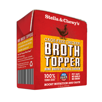 Stella & Chewy's Cage-Free Chicken Broth Topper for Dogs, 11-oz