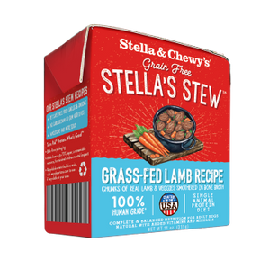 Stella & Chewy's Grass Fed Lamb Wet Food Stew for Dogs, 11-oz