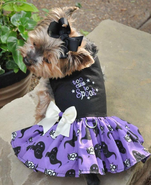 Fall Too Cute to Spook Dog Dress