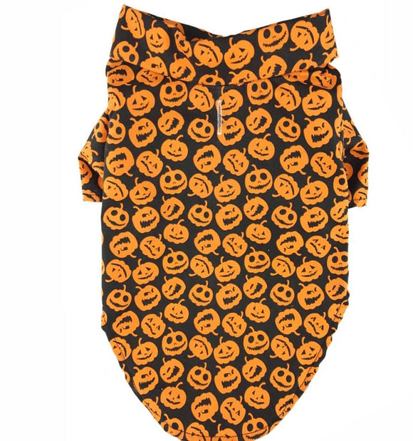 Fall Pumpkin Dog Shirt