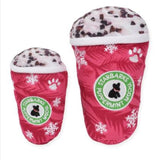 Peppermint Mocha Starbarks Coffe Dog Toy