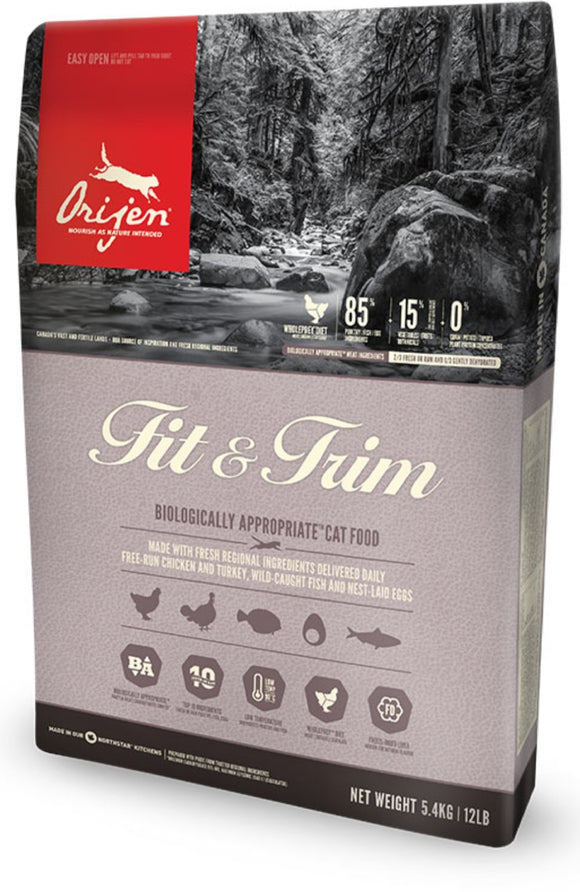 Orijen Fit and Trim Grain Free Dry Cat Food
