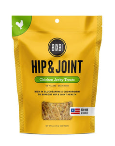 Bixbi Hip & Joint Chicken Jerky Dog Treats