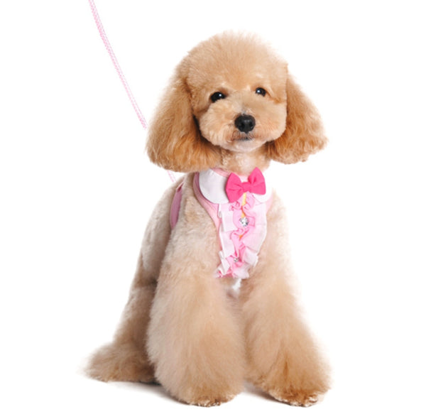 Easy Go Pink Ruffle Harness