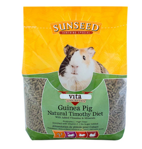 Sunseed Vita Sunscription Natural TImothy Guinea Pig Food 5lb