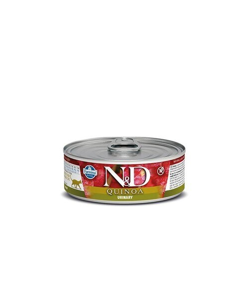 Farmina N&D Quinoa Urinary Duck Canned Cat Food