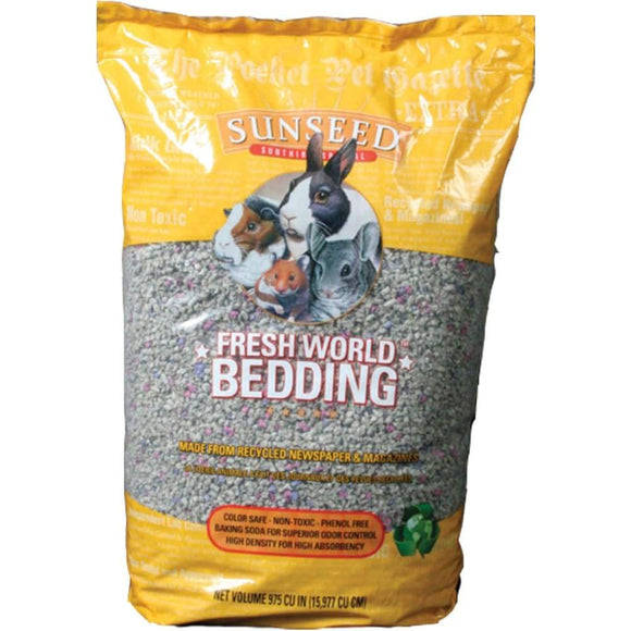 Sunseed Fresh World Small Pet Bedding, 975CI