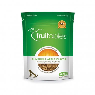 Fruitables® Pumpkin Apple Crunchy Dog Treats 7 Oz