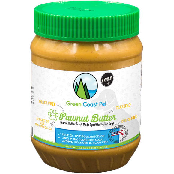 Green Coast Pet Pawnut Butter