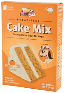 Puppy Cake Mix - Pumpkin Cake Mix and Frosting for Dogs