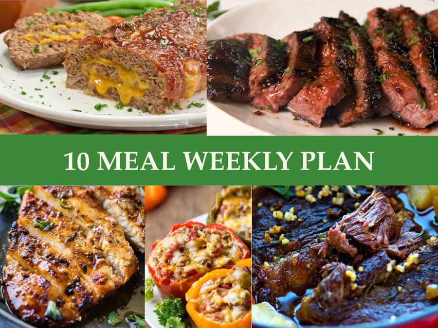 10 Meal Weekly Plan