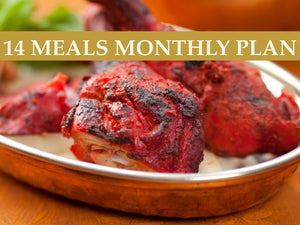 14 Meals Monthly Plan