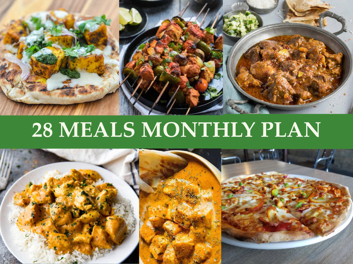 28 Meals Monthly Plan