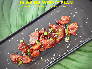 14 Meals Weekly Plan