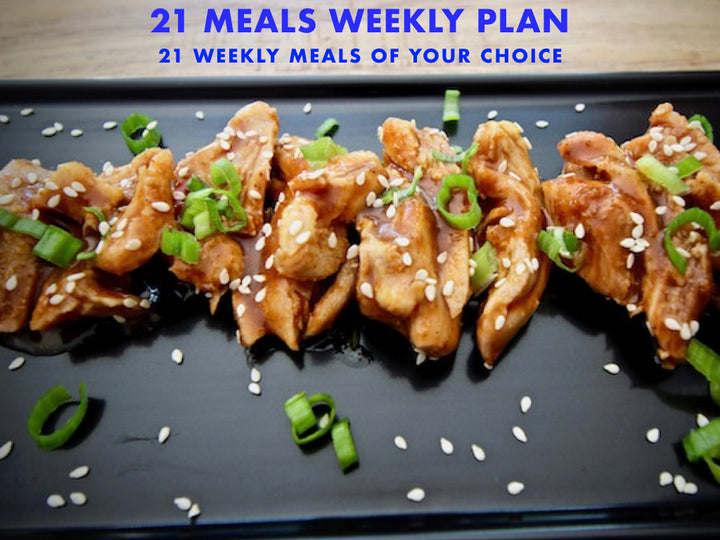 21 Meals Weekly Plan