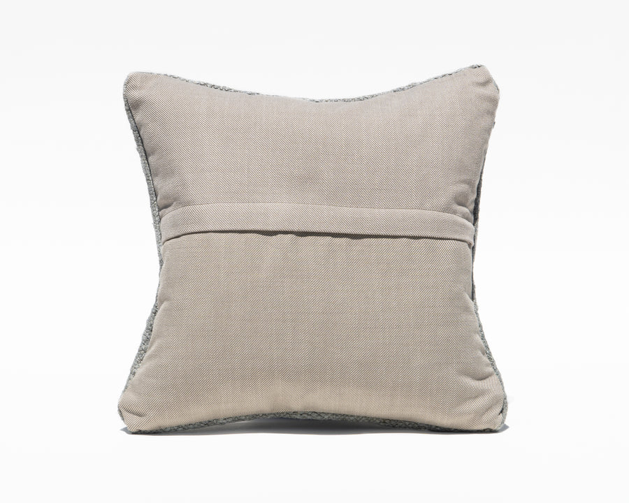 Turkish Textured Blue Pillow Cover