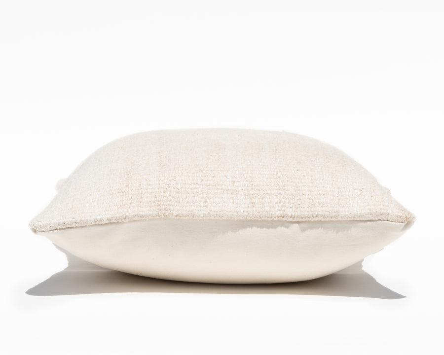 Antique Turkish Natural Hemp Pillow Cover II