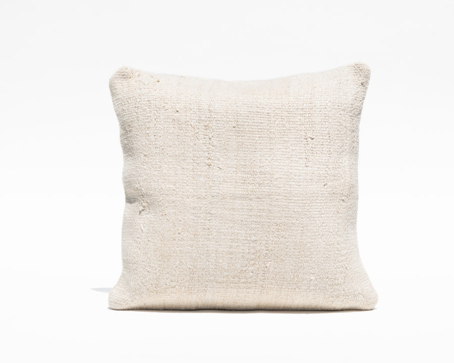 Antique Turkish Natural Hemp Pillow Cover