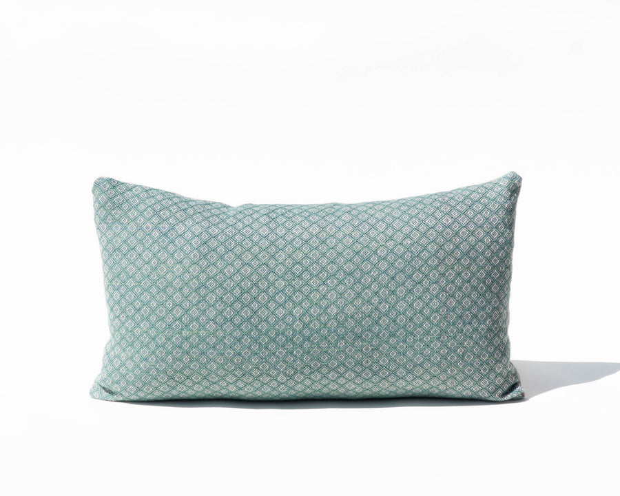 Handwoven 'Geo IV' Lumbar Pillow Cover