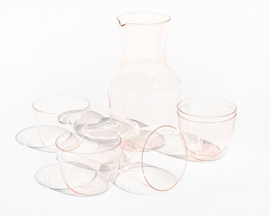 'Alpha' Water Glass - Rosalin