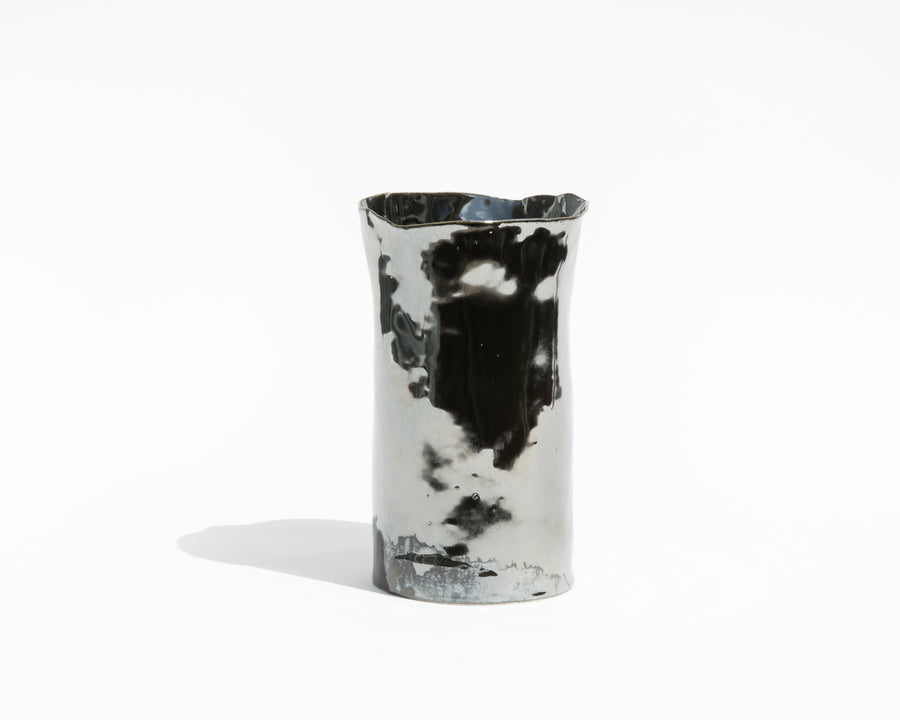 Metallic Porcelain Vase