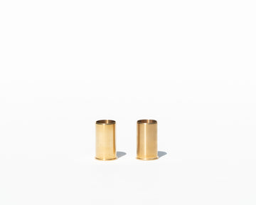 Minimal Brass Candle Holder