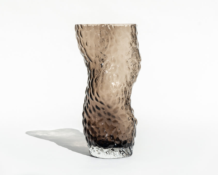 Ostrea 'Rock' Glass Vase
