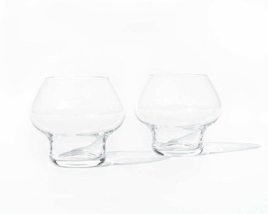 Jørn Utzon 'Spring' Glass - A Pair