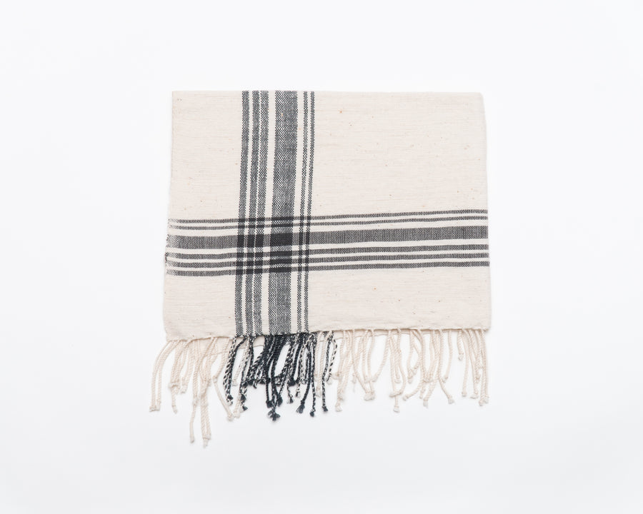 Hatch Hand Towel - Gray