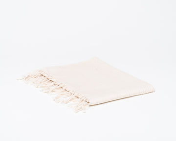 Ribbed Hand Towel - Natural