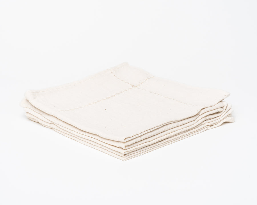 Hand-Stitched Napkin - Natural