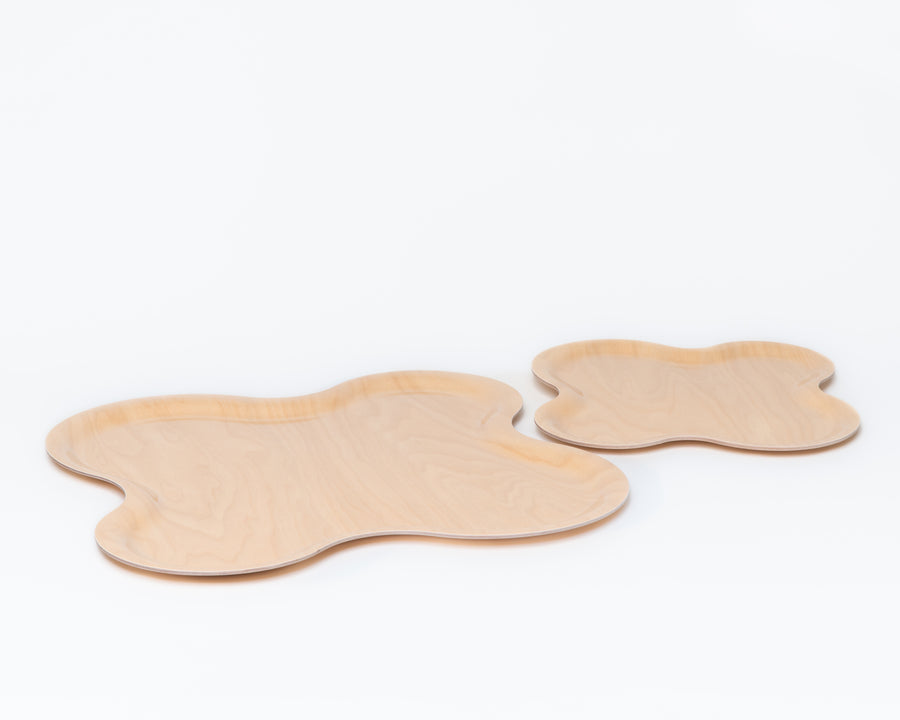 Birch Tray Set