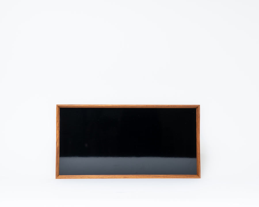 'Turning Tray' 1 by Finn Juhl - Black/Blue