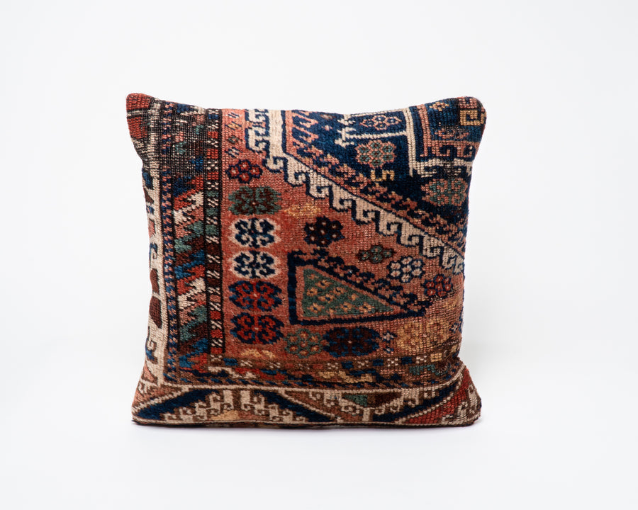 Traditional Antique Turkish Kilim Pillow Cover