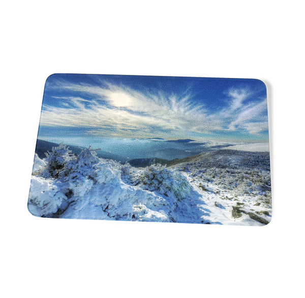 Heavenly Winter Glow Cutting Board by Chris Whiton