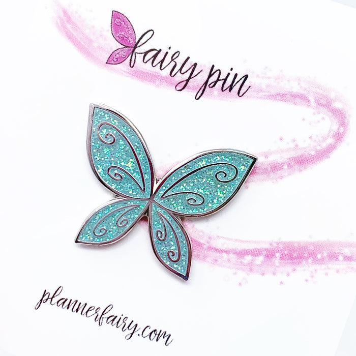 OOPS Fairy Wing Enamel Pin || Ether