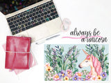 Always Be A Unicorn || Planner Fairy Mural Weekly Kit
