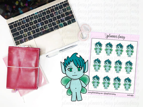 Meet Astro || Planner Fairy Exclusive Hand Drawn Stickers