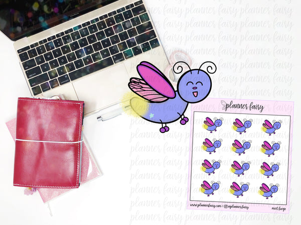 Meet Fuego || Planner Fairy Exclusive Hand Drawn Stickers