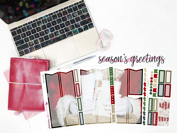 Season's Greetings || Planner Fairy Mural Kit || B6