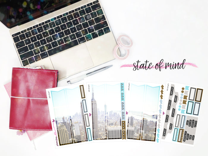 State of Mind || Planner Fairy Mural Kit || B6