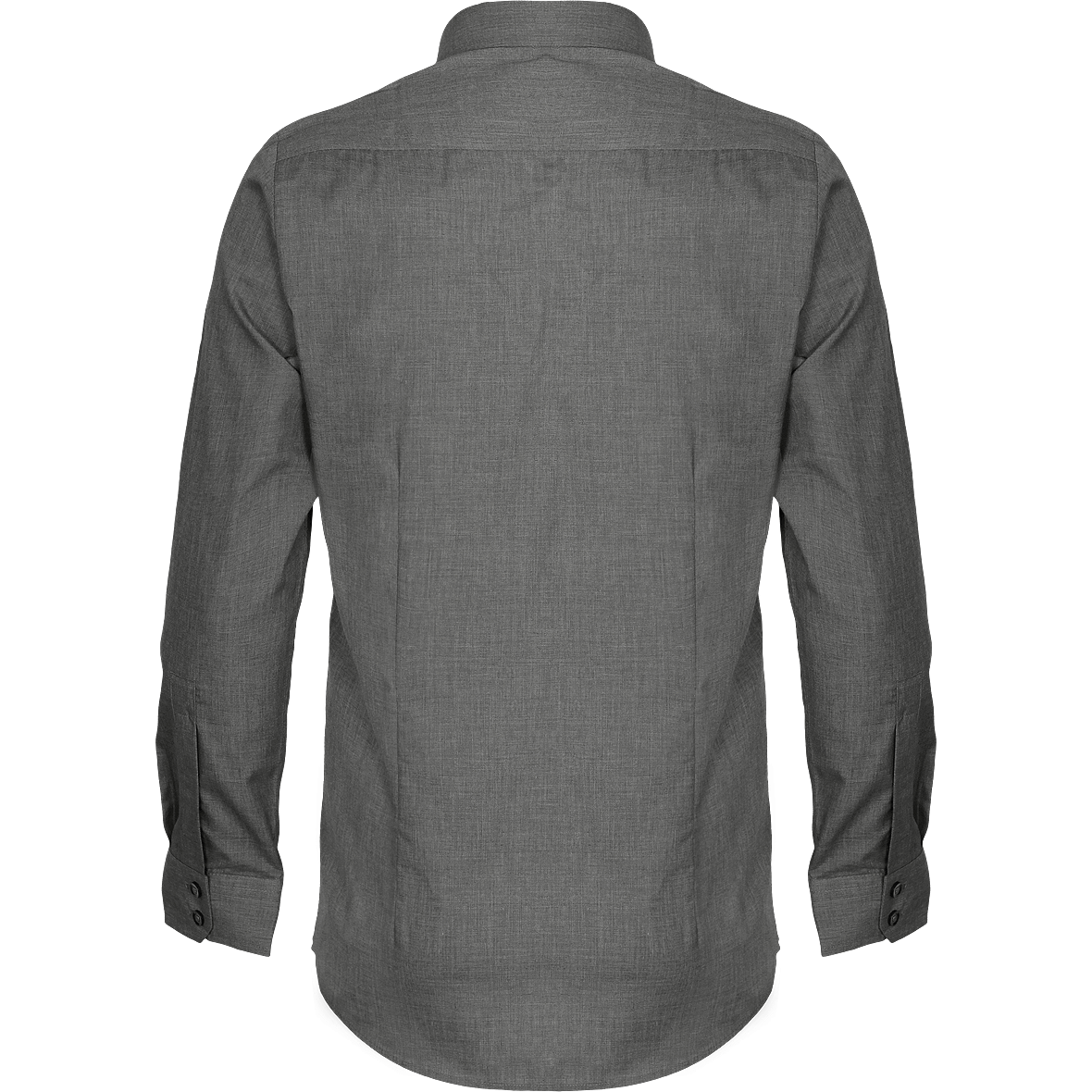 PRESTIGIO MEN's Newpoplin cross-dye roll sleeve shirt Men