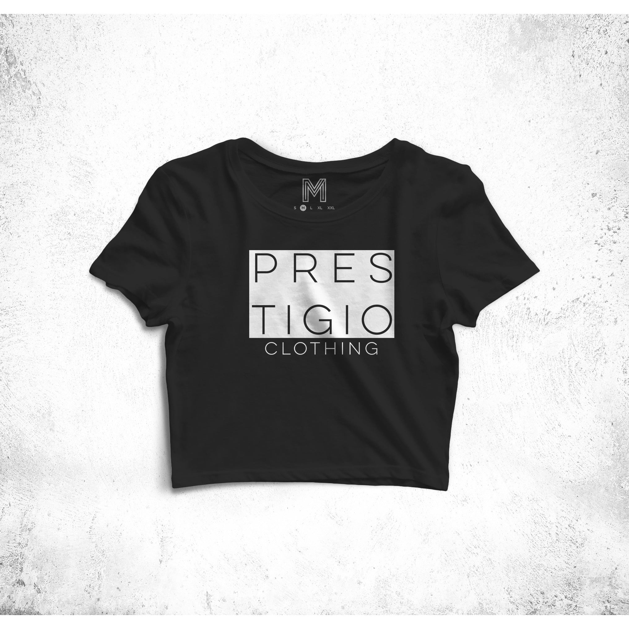 Prestigio Women's Cropped T-shirt
