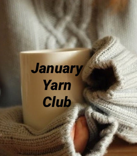January yarn club