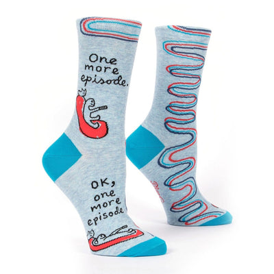 One More Episode Women's Crew Socks